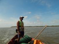 Seu Catita, pescador com um super conhecimento da região!