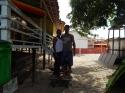 Cris e Roberto que tocam o Turismo de Base Comunitária na Praia do Pesqueiro, em Soure, Ilha do Marajó.